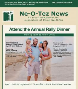sample of first Ne-O-Tez News