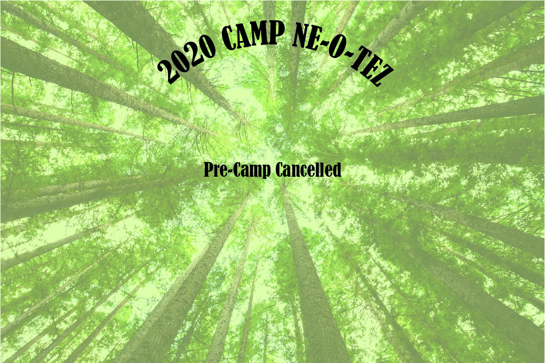 PreCamp Cancelled
