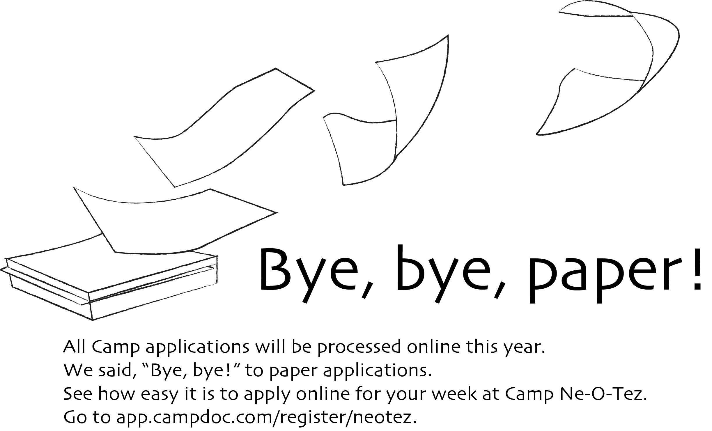 Bye, bye, paper!